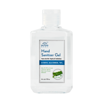 Hand Sanitizer Gel, 4 oz (Bottle)
