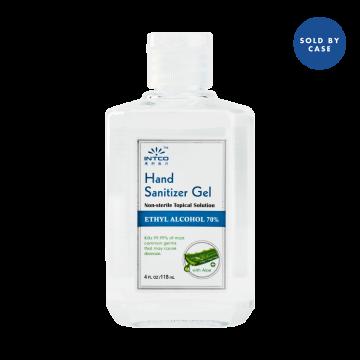 Hand Sanitizer Gel, 4 oz (Case of 80)