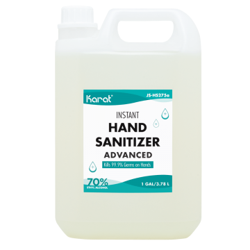 Karat 1 gallon Hand Sanitizer Gel  - 4 bottles/case