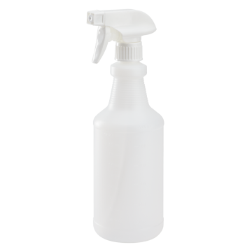 24 oz Spray Bottle, HDPE