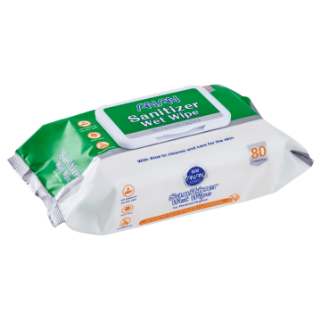 Sanitizing Wet Wipes (12 Packs of 80 Wipes) - 960 ct