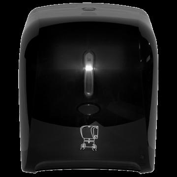 Autocut Manual Hand Towel Roll Dispenser - Smoke, JSD-5300B-5-1