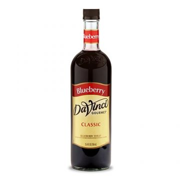 DaVinci Classic Blueberry Syrup (750mL), K-Blueberry