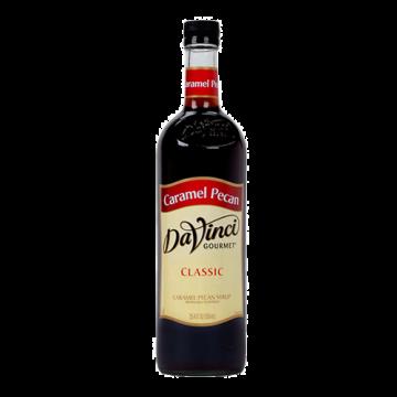 DaVinci Classic Caramel Pecan Syrup (750mL), K-Caramel Pecan