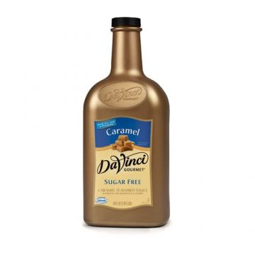 DaVinci Sugar Free Caramel Sauce (64oz)