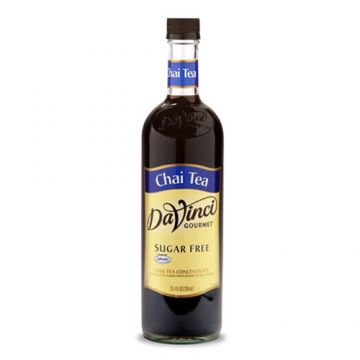 DaVinci Sugar Free Chai Tea Concentrate (750mL)