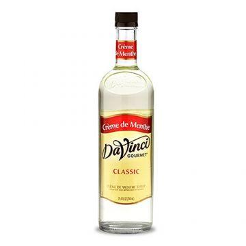 DaVinci Classic Creme de Menthe Syrup (750mL), K-Creme De Menthe