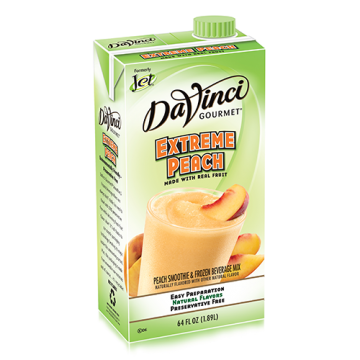 DaVinci Extreme Peach Fruit Smoothie Mix (64oz) - Formerly Jet, K-Jet (Extreme Peach)