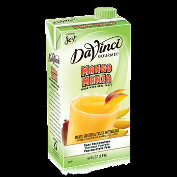 DaVinci Mango Mania Fruit Smoothie Mix (64oz) - Formerly Jet, K-Jet (Mango Mania)