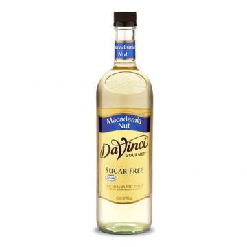 DaVinci Sugar Free Macadamia Nut Syrup (750mL), K-Macadamia Nut-sf