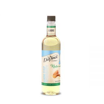 DaVinci Natural Almond Flavored Syrup (700mL) - PET Bottle