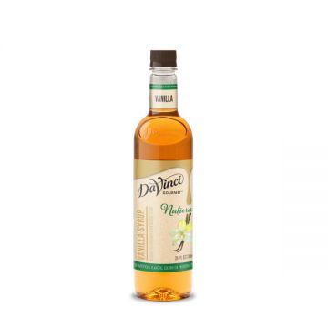 DaVinci Natural Vanilla Flavored Syrup (700mL) - PET Bottle