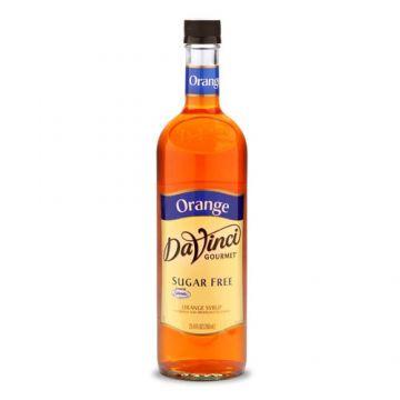DaVinci Sugar Free Orange Syrup (750mL), K-Orange-sf