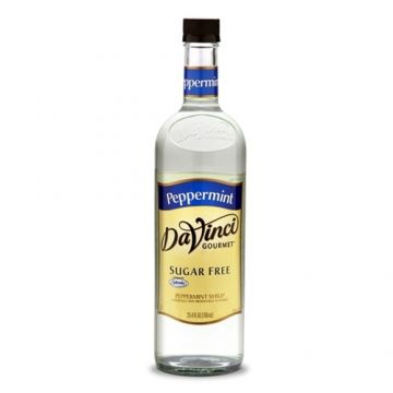 DaVinci Sugar Free Peppermint Syrup (750mL), K-Peppermint-sf