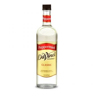 DaVinci Classic Peppermint Syrup (750mL), K-Peppermint
