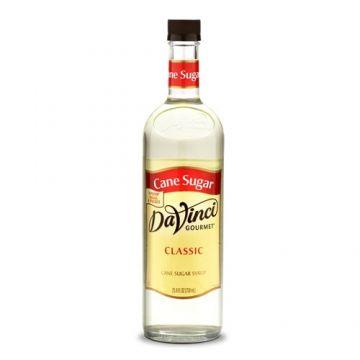 DaVinci Classic Cane Sugar Syrup (750mL), K-Sweetener, Cane Sugar