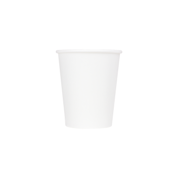 Karat 6oz Paper Hot Cups - White (70mm) - 1,000 ct