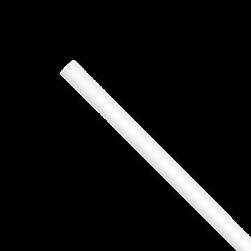 "Karat Earth 7.75"" Jumbo Paper Paper Straw (5mm) White (2,000 ct)  KE-C9400W"