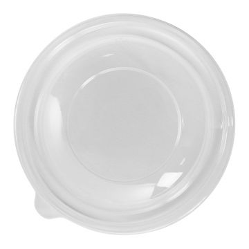 Karat 24oz PET Plastic Salad Bowl Dome Lids - 300 ct