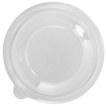 Karat 32oz PET Plastic Salad Bowl Lids - 300 ct