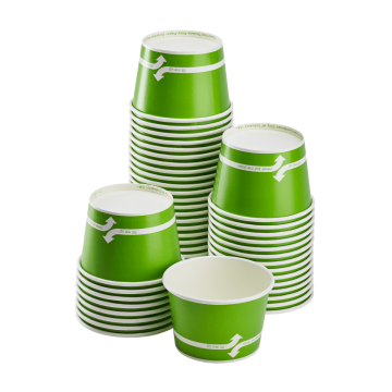 Karat 12oz Food Containers - Green (100mm) - 1,000 ct