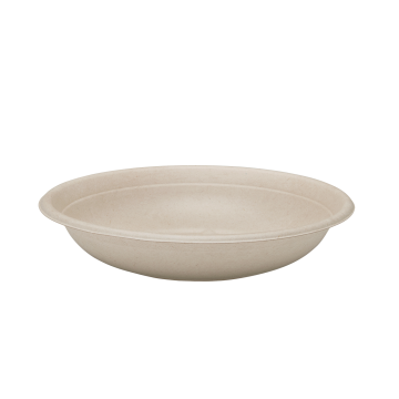 Karat Earth  24oz Bagasse Bowl, Round, Natural - 500 ct