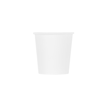 Karat Earth 4oz Eco-Friendly Paper Hot Cups - White (62mm) - 1,000 ct, KE-K504W