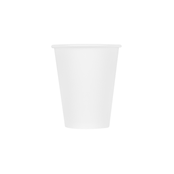 Karat Earth 8oz Eco-Friendly Paper Hot Cups - White (80mm) - 1,000 ct
