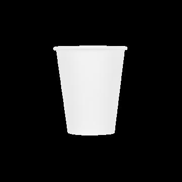 Karat Earth 8oz Eco-Friendly Paper Hot Cups - White (80mm) - 1,000 ct