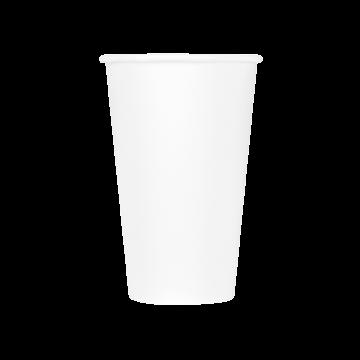 Karat Earth 16oz Eco-Friendly Paper Hot Cups - White (90mm) - 1,000 ct