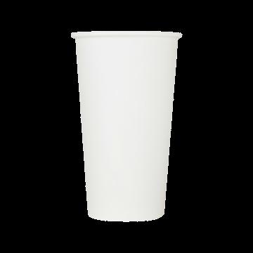 Karat Earth 20oz Eco-Friendly Paper Hot Cups - White (90mm) - 600 ct, KE-K520W
