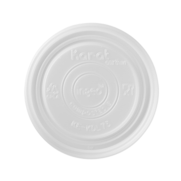 Karat Earth Flat Lid for 4oz Eco Food Container