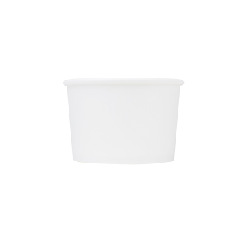 Karat Earth 8oz Eco-Friendly Paper Food Containers - White (90.8mm) - 1,000 ct, KE-KDP8W