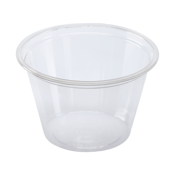 Karat Earth 4 oz. PLA Portion Cups - Clear - 2,000 ct