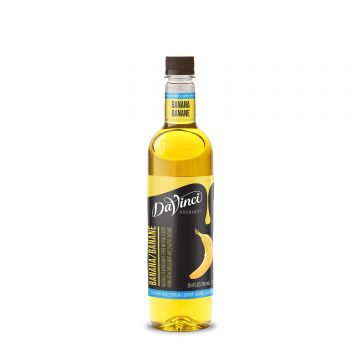 DaVinci Sugar Free Banana Syrup (750mL)