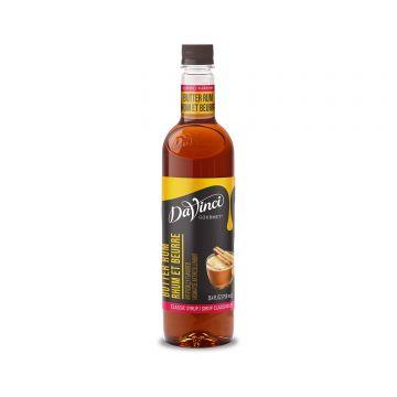 DaVinci Classic Butter Rum Syrup (750mL)