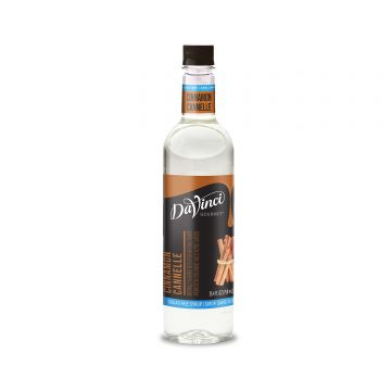 DaVinci Sugar Free Cinnamon Syrup (750mL)