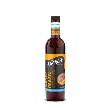DaVinci Sugar Free Gingerbread Syrup (750mL)