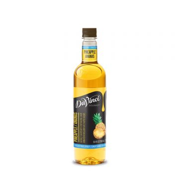 DaVinci Sugar Free Pineapple Syrup (750mL)