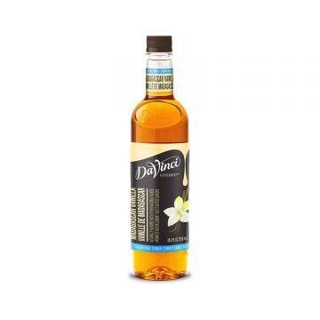 DaVinci Sugar Free Madagascar Vanilla Syrup (750mL)