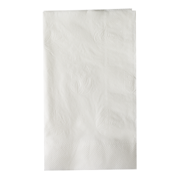 "Karat 15""x17"" 2 Ply Dinner Napkins - White - 3,000 ct"