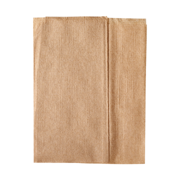 "Karat 12""x13"" Off-Fold Napkins - Kraft - 6,000 ct, KN-F1213-1K"