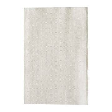 "Karat 8""x6.5"" Interfold Dispenser Napkins - White - 6,000 ct, KN-F86-2W"