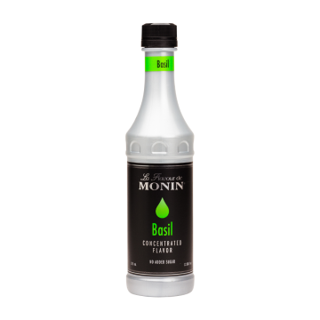 Monin Basil Flavoring Concentrate (375mL)