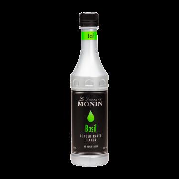 Monin Basil Flavoring Concentrate (375mL)