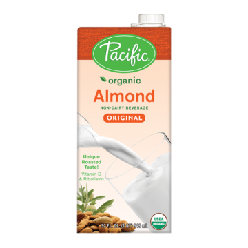 Pacific Organic Almond Original Non-Dairy Beverage (32oz)