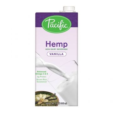 Pacific Hemp Vanilla Non-Dairy Beverage (32 oz)