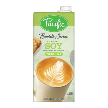 Pacific Barista Series Original Soy Beverage (32oz)