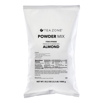 Tea Zone Almond Powder (Made in USA) - 2.2 lbs