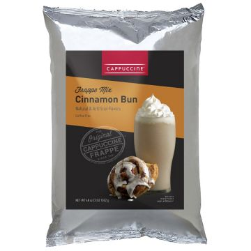 Cappuccine Cinnamon Bun Frappe Mix (3 lbs), P4018